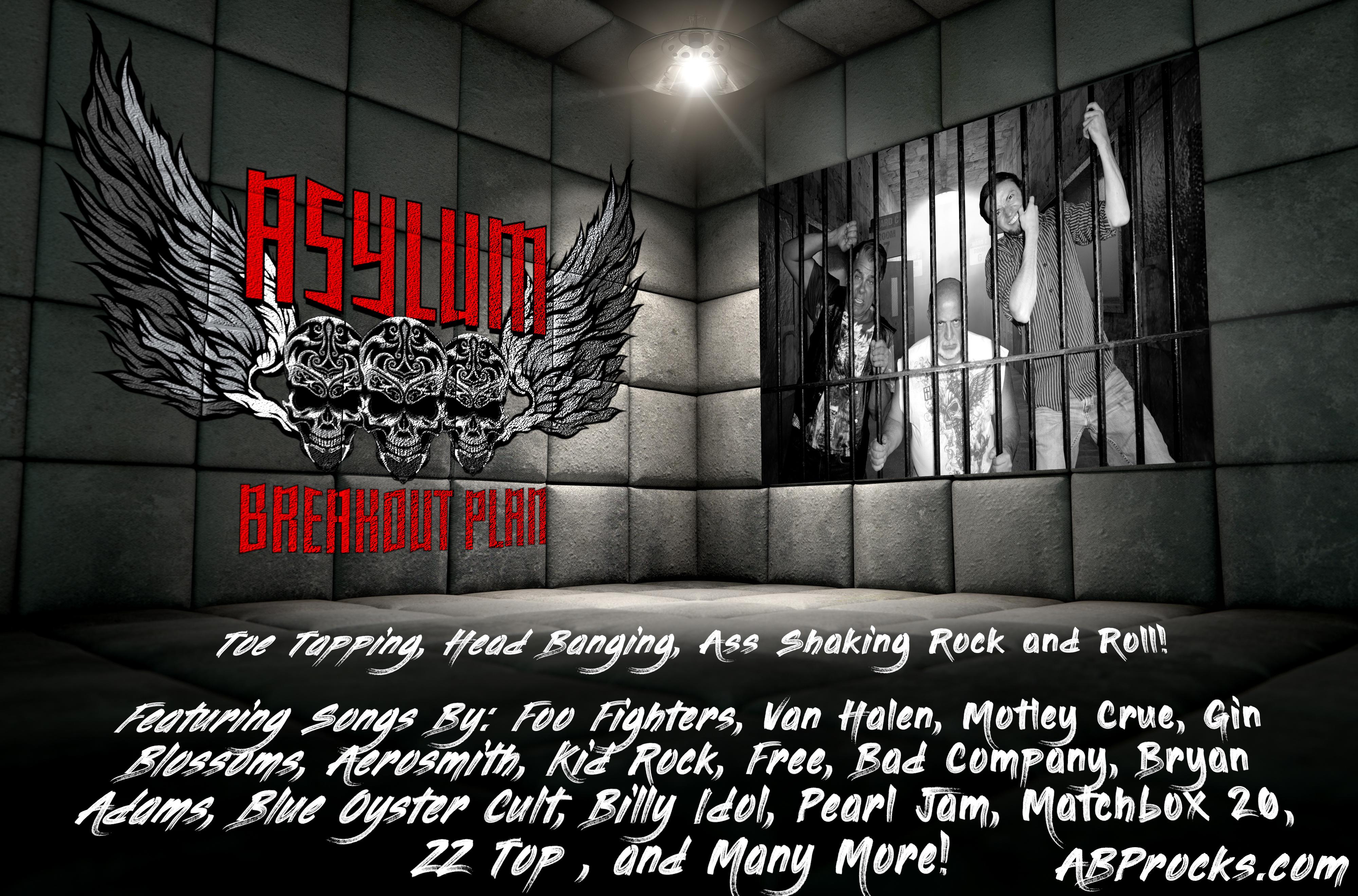 Asylum Breakout Plan